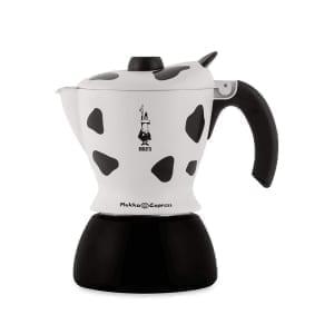 Bialetti mukka cow design cappuccino maker