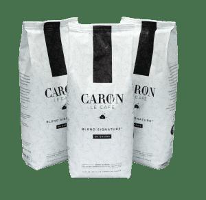 Caron Le Cafe bags of coffee